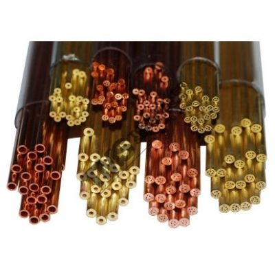 Brass Single Hole Tubes